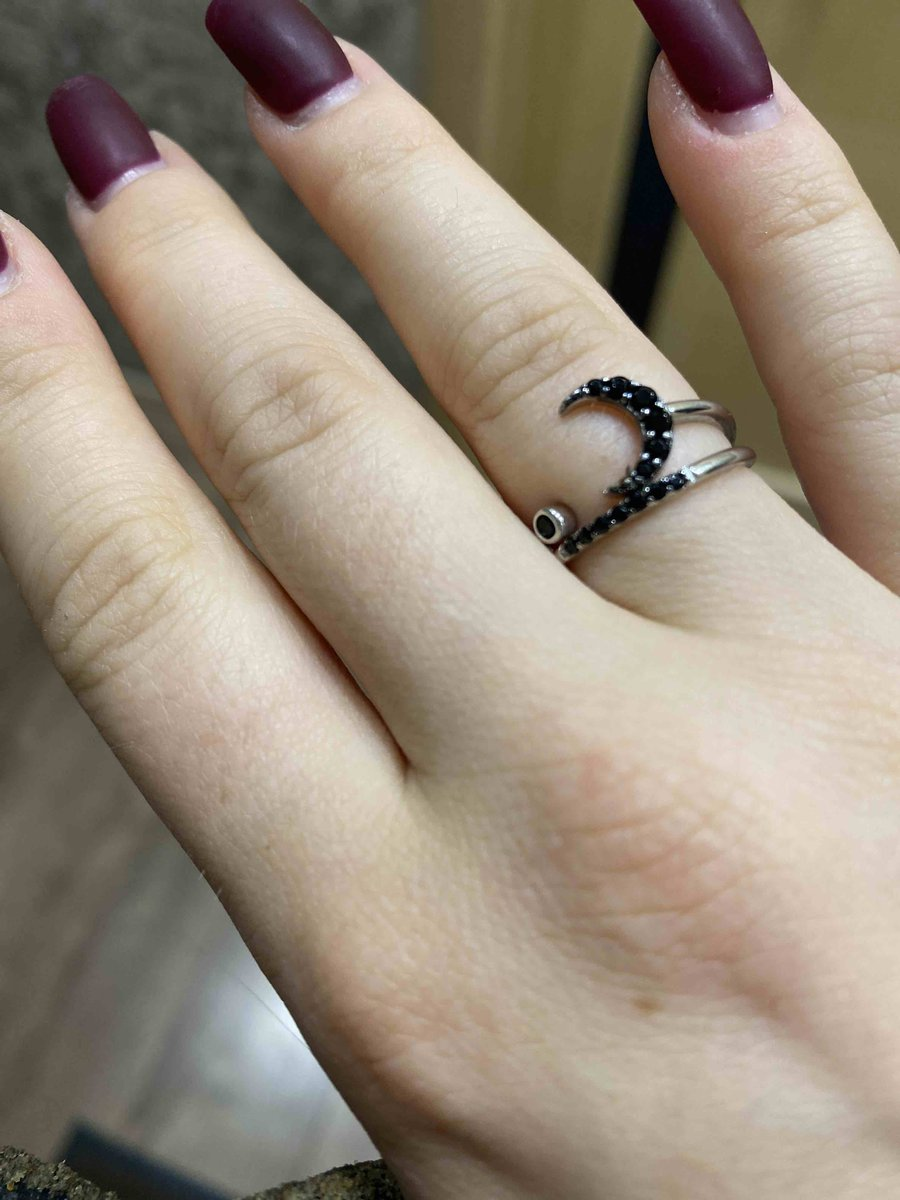 Кольцо с луной
