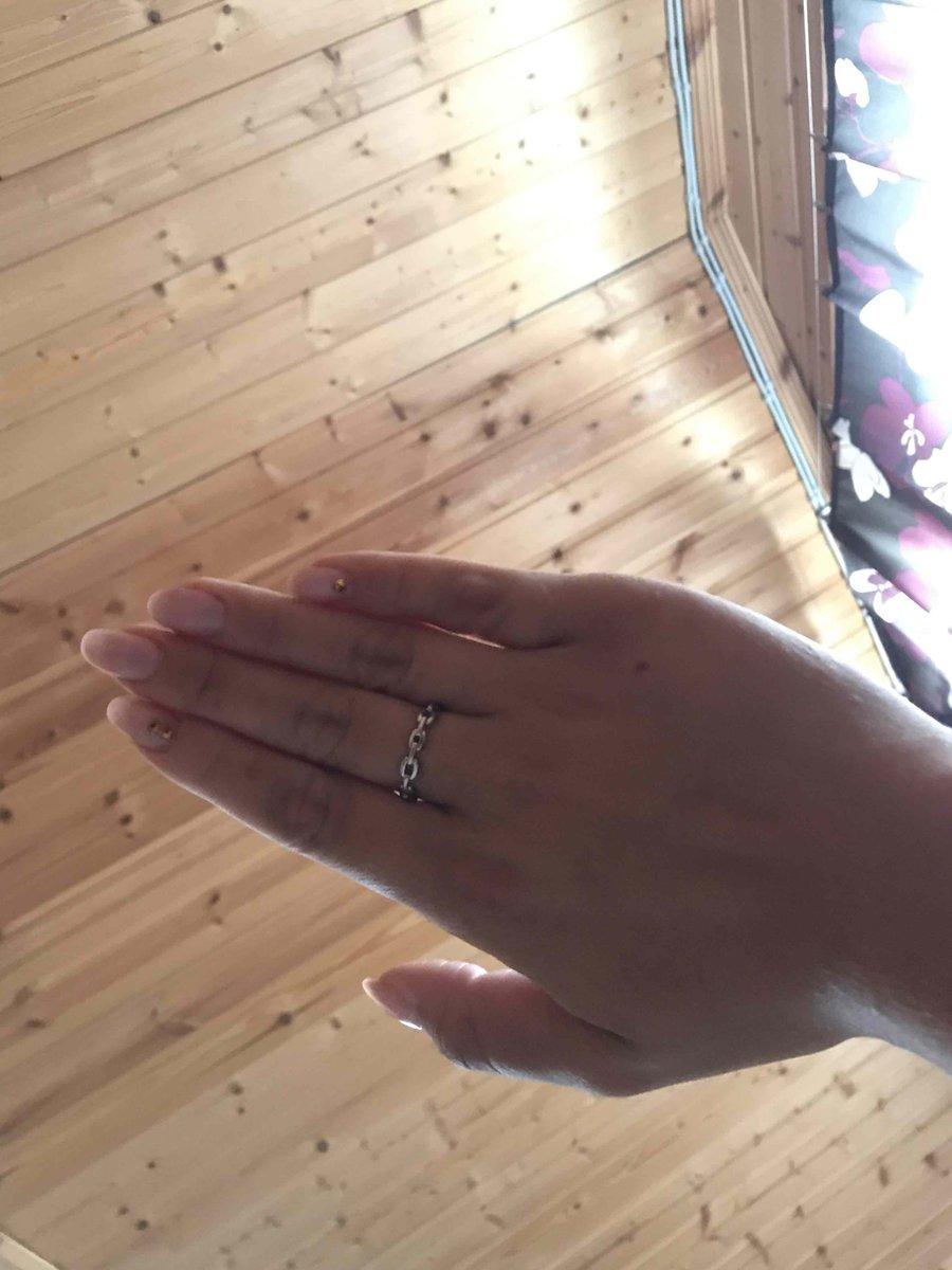Ношу кольцо не снимая😍