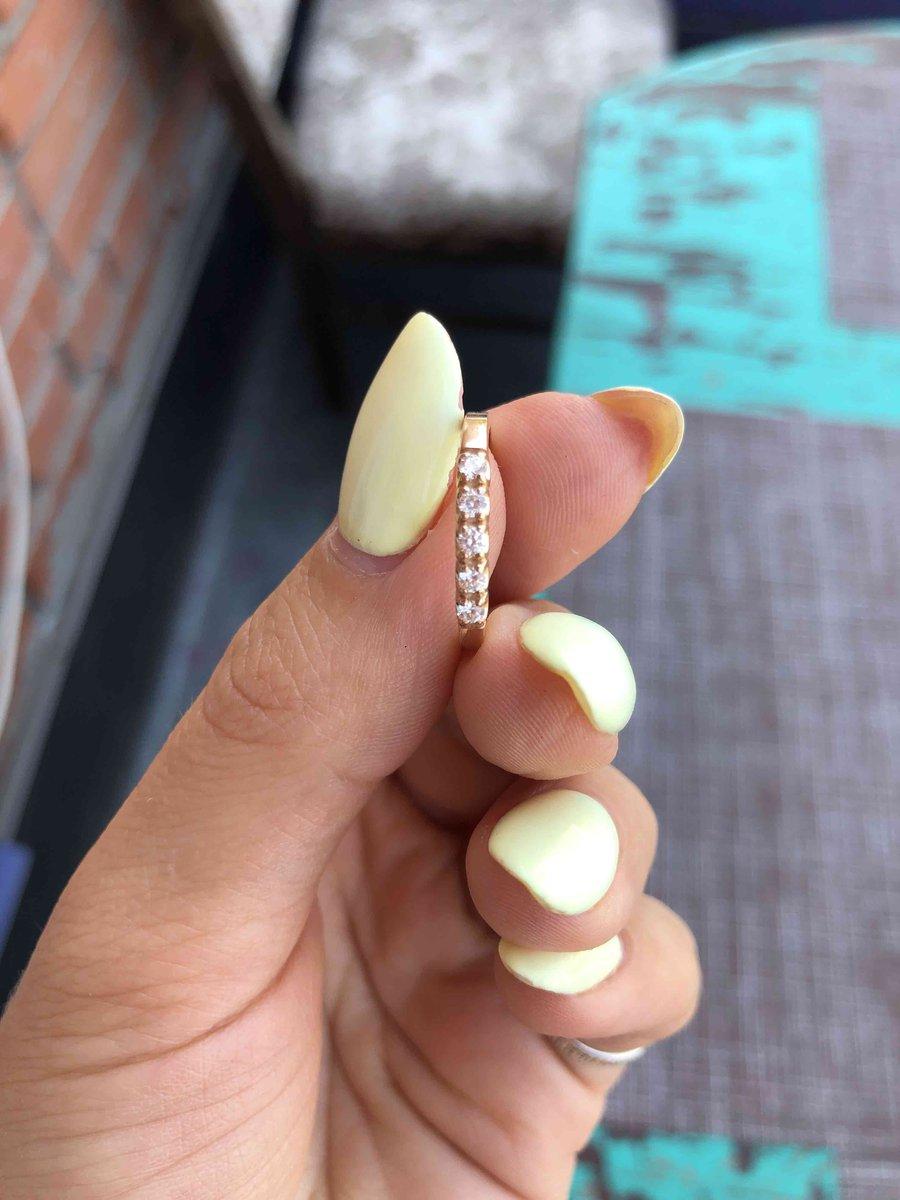 Дорожка с 5-ю бриллиантами