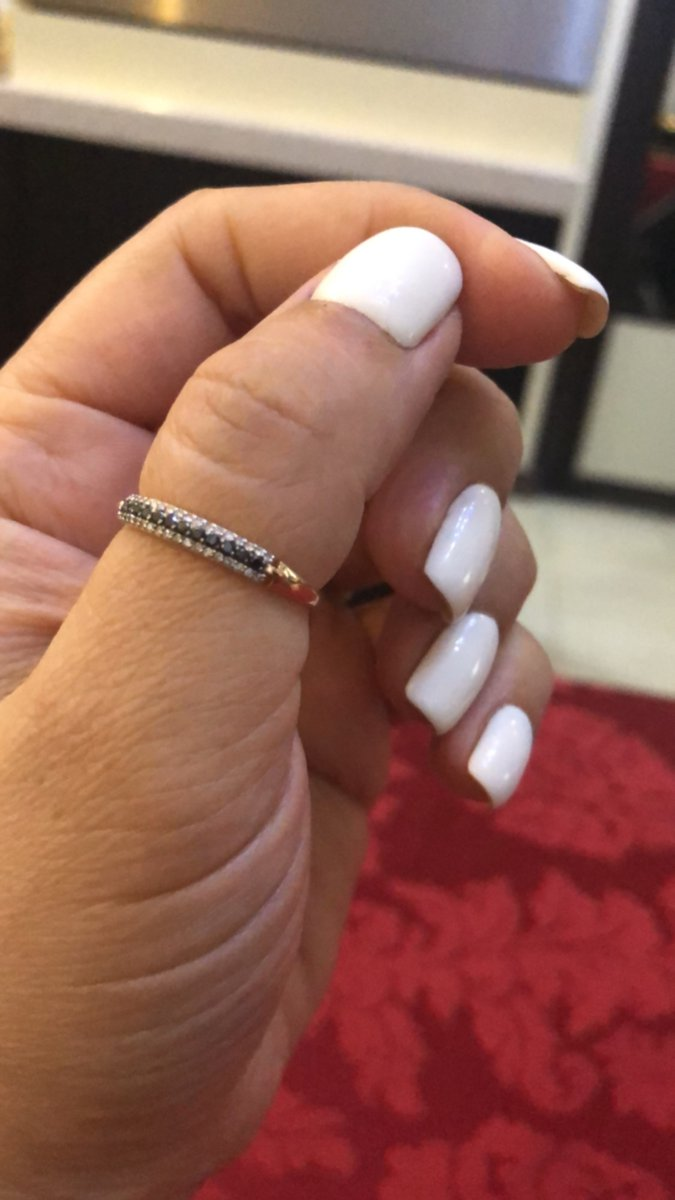 Кольцо с брллиантами