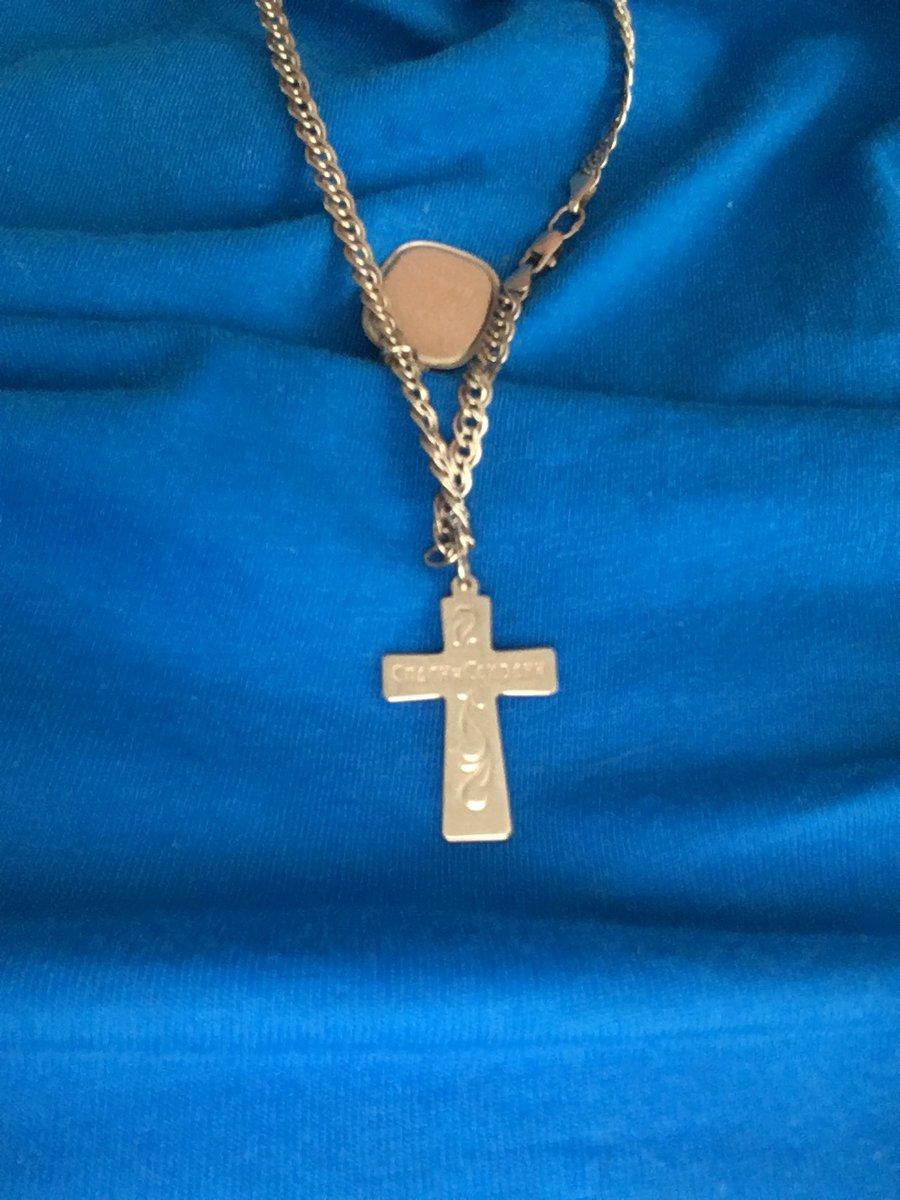 Купила золотой крестик для взрослово