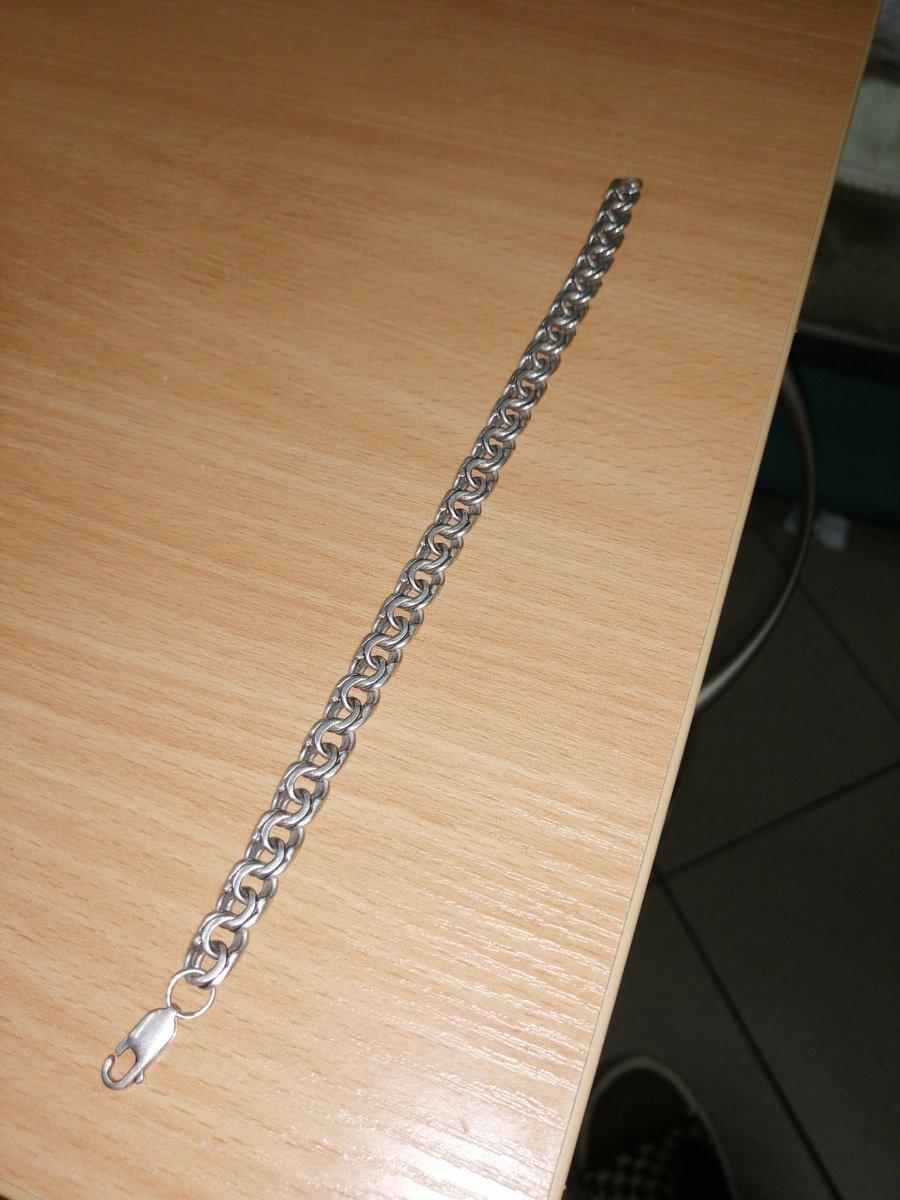 Серебренный браслет