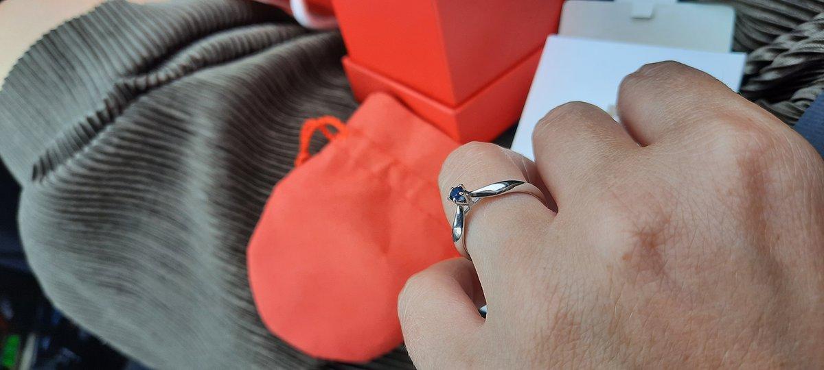 Благородный подарок на пятую годовщину свадьбы 💍