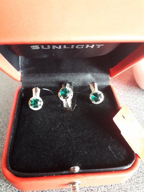Серьги с бриллиантами и изумрудами-роскошь и элегантность!!!