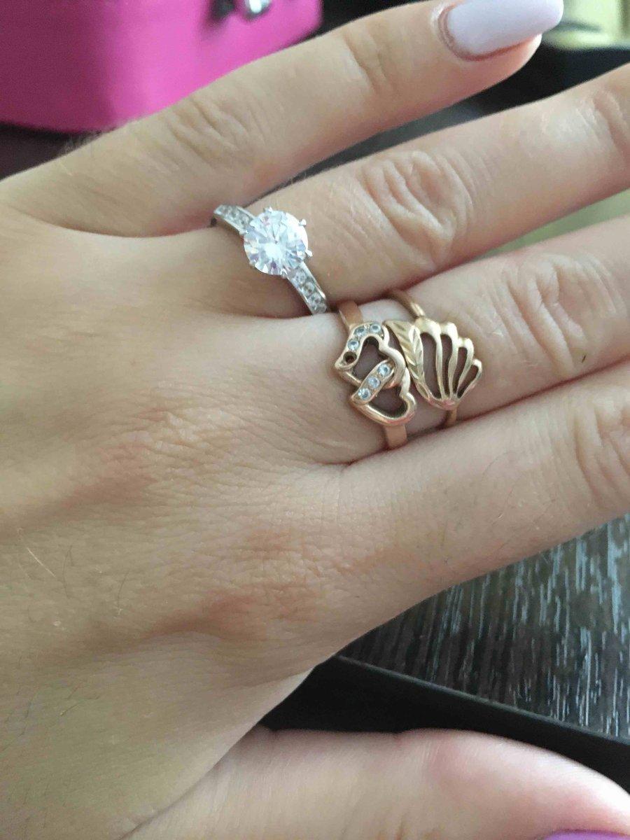 Кольцо Серебро 925- фианит