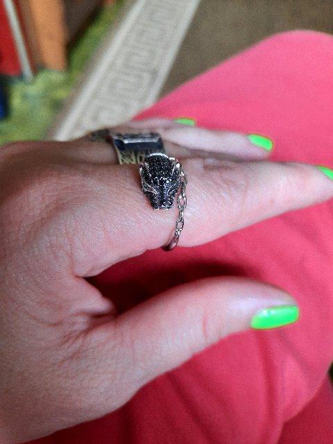 Кольцо хищник