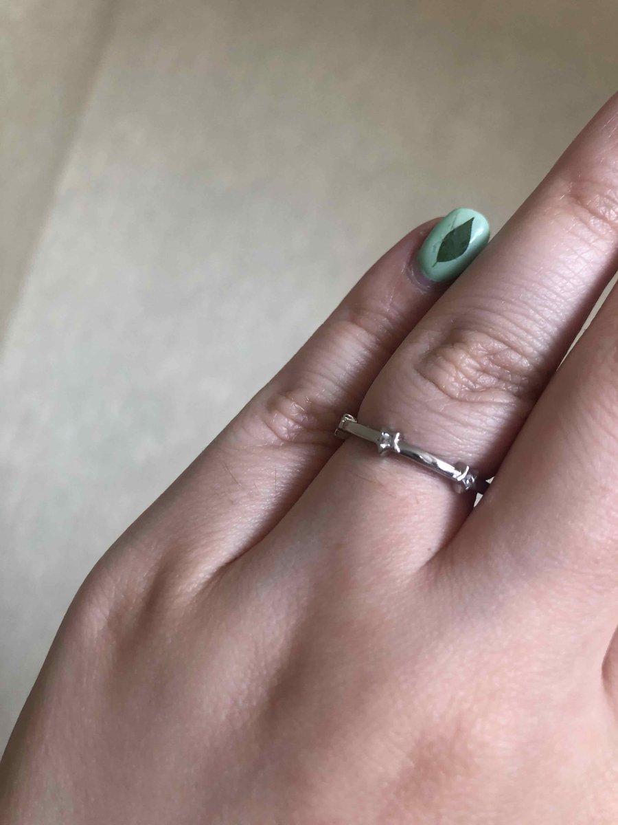 Очень аккуратное кольцо