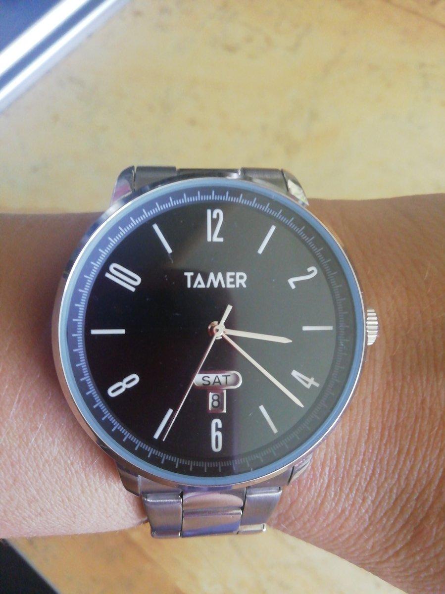 Часы фирмы tamer