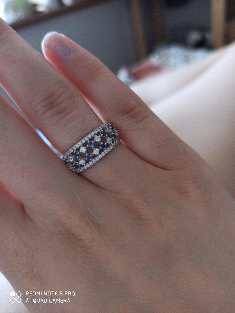 Кольцо пришло с камнями не того цвета