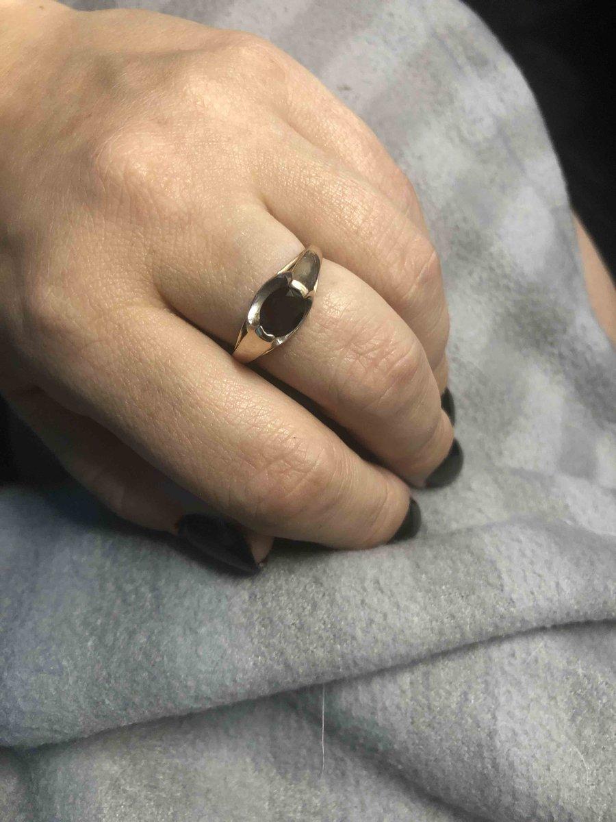 Аккуратное кольцо на каждый день