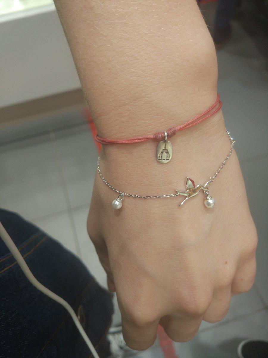 Красивый и милый браслет для девушки!