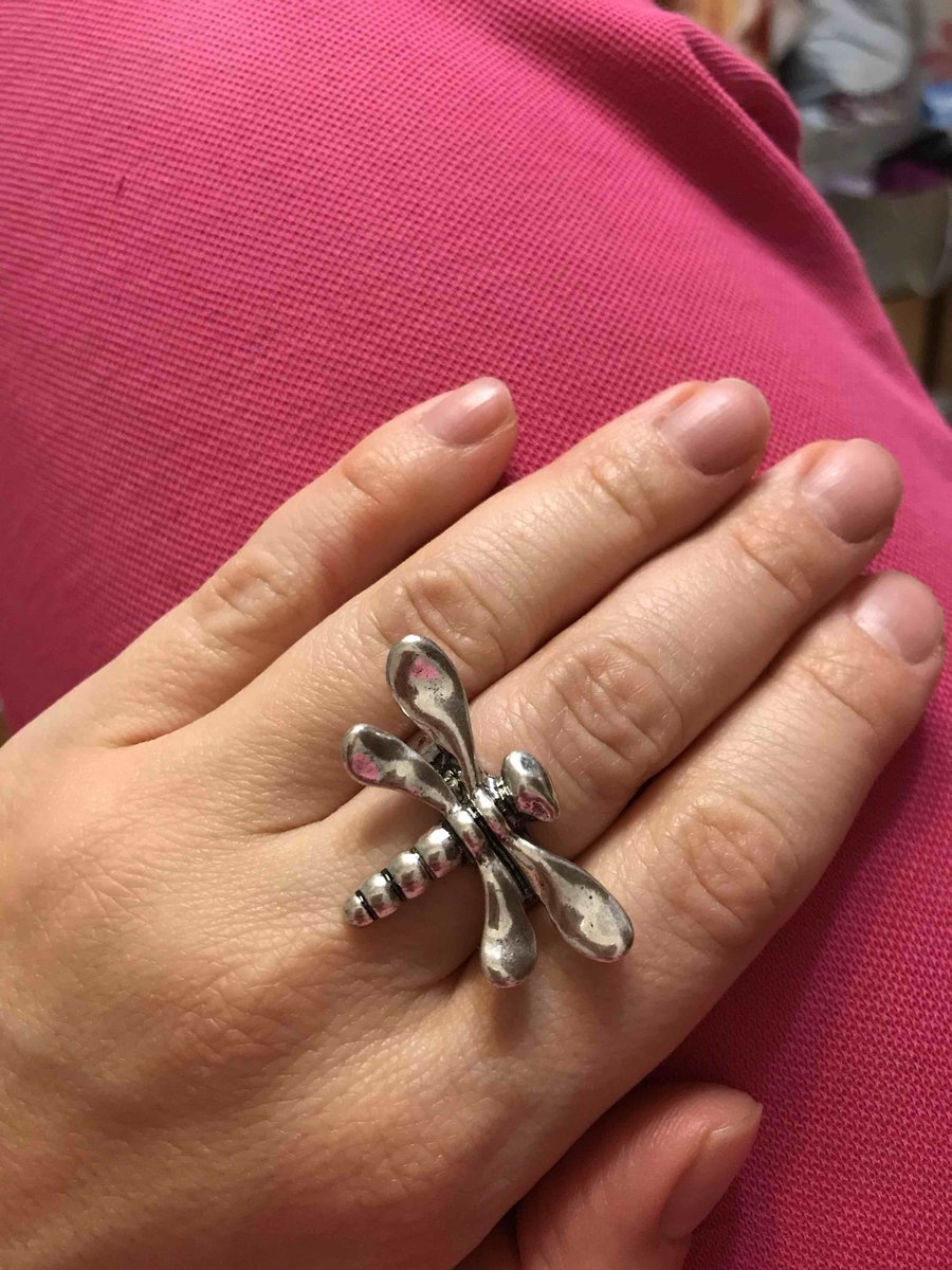 Кольцо стрекоза