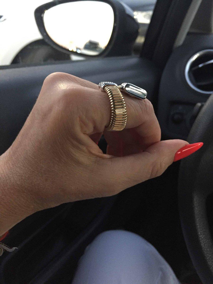 Позолоченное кольцр италия