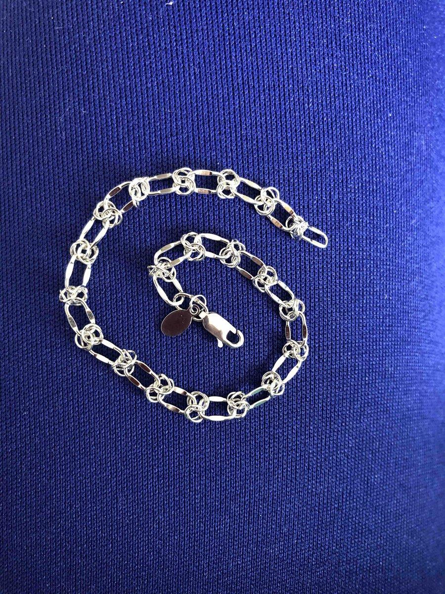 Оригинальное плетение цепи