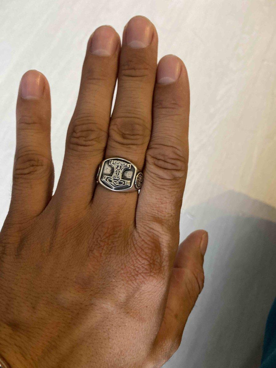 Скандинавский перстень
