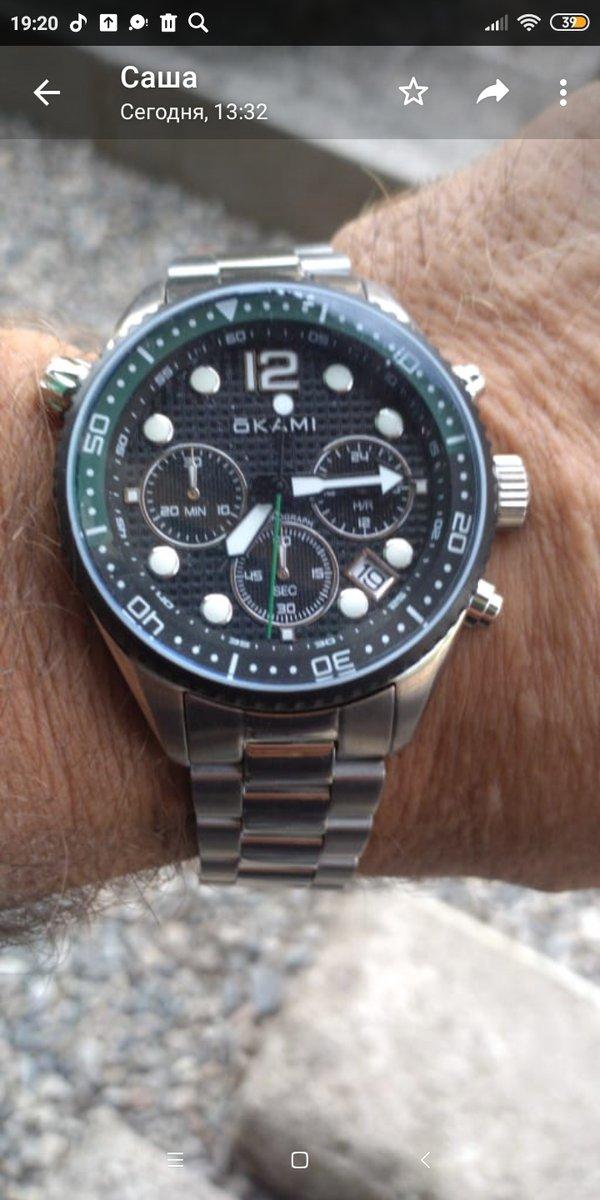 Часы классные,на руке смотрятся прекрасно.