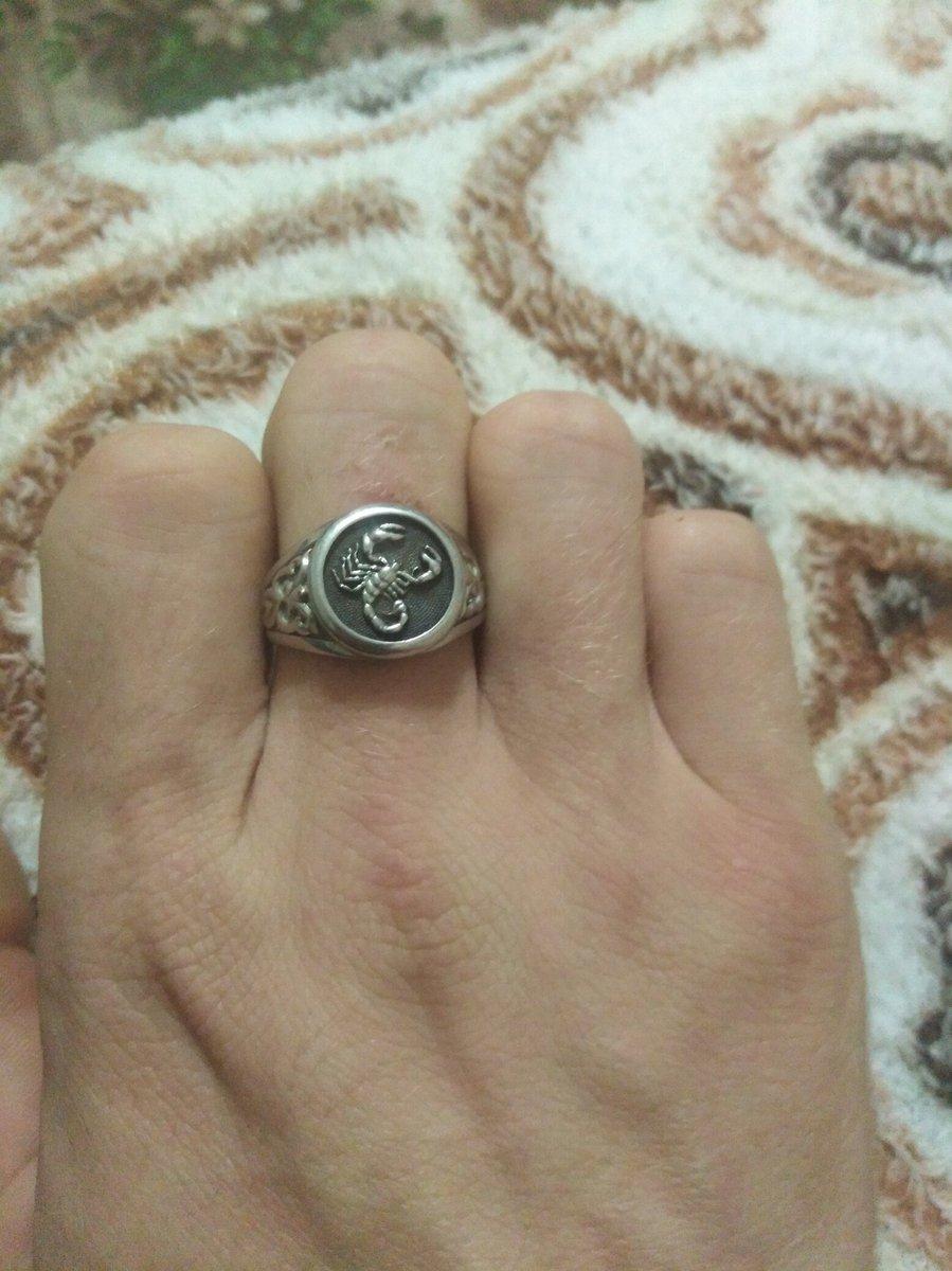 Отзыв о серебряном кольце скорпион