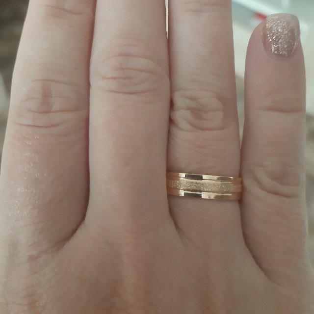 Обручальное кольцо!