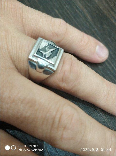 Я доволен качество кольцо)))