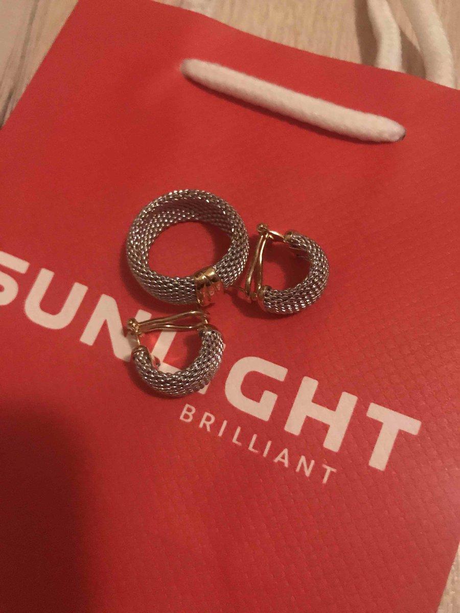 Серебрянные серьги и кольцо!