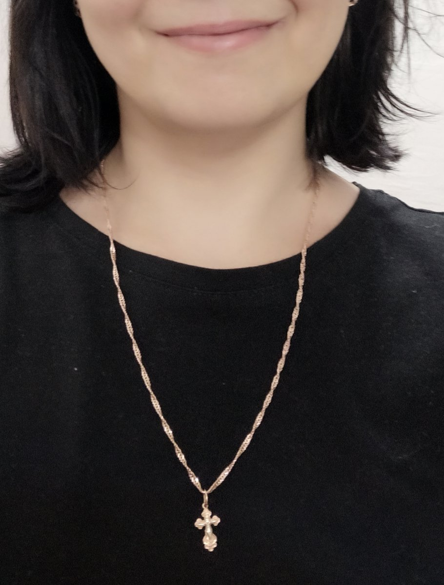 """Цепочка с плетением """"Сингапур"""" 55 см."""