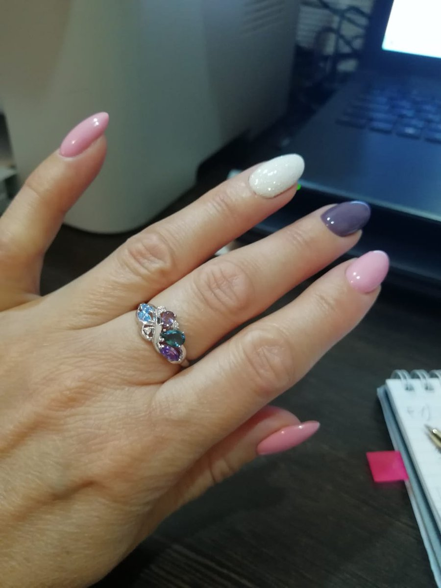 Невероятно нежное кольцо