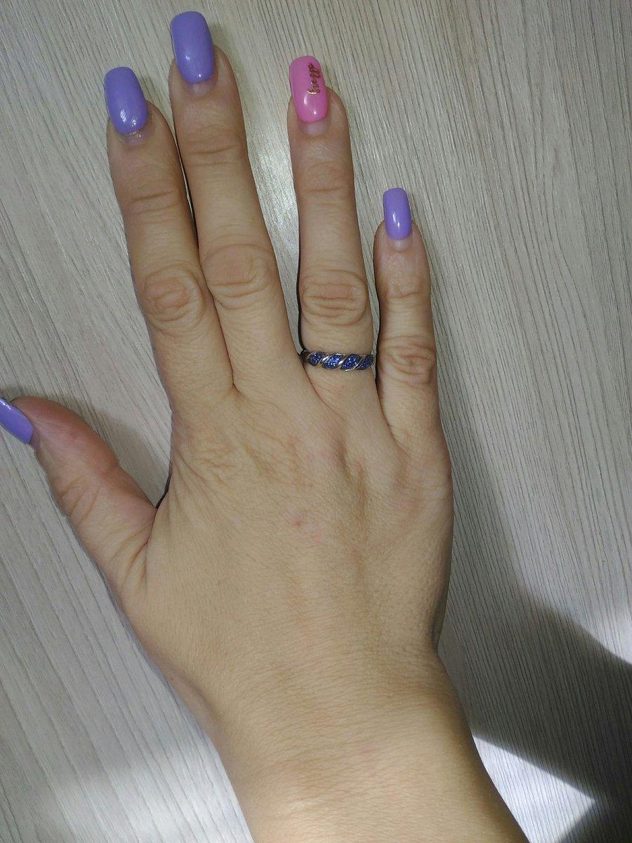 Кольцо с синими фианитами покорило меня!!обожаю синий цвет!!