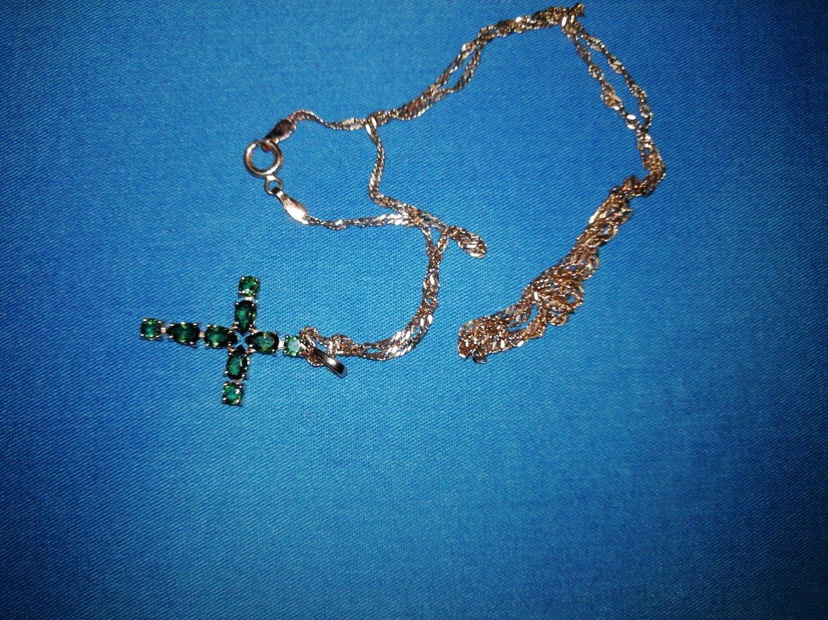 Турмалиновый крестик