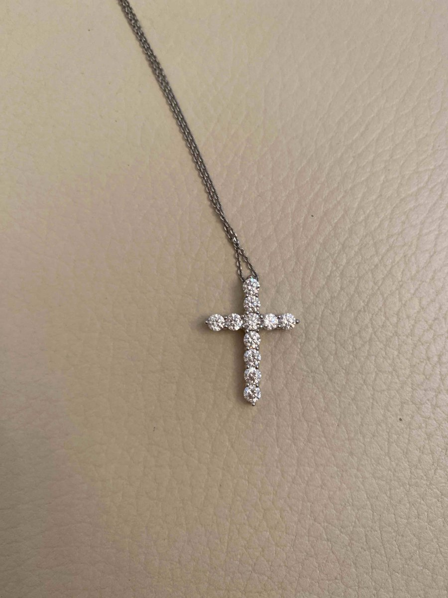 Серебрчнный крестик