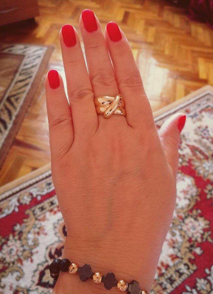 Кольцо из лимонного золота в итальянском стиле!