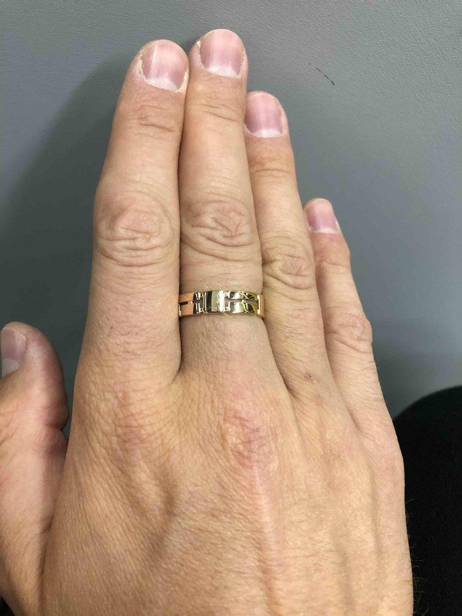 Интересный вид кольца.