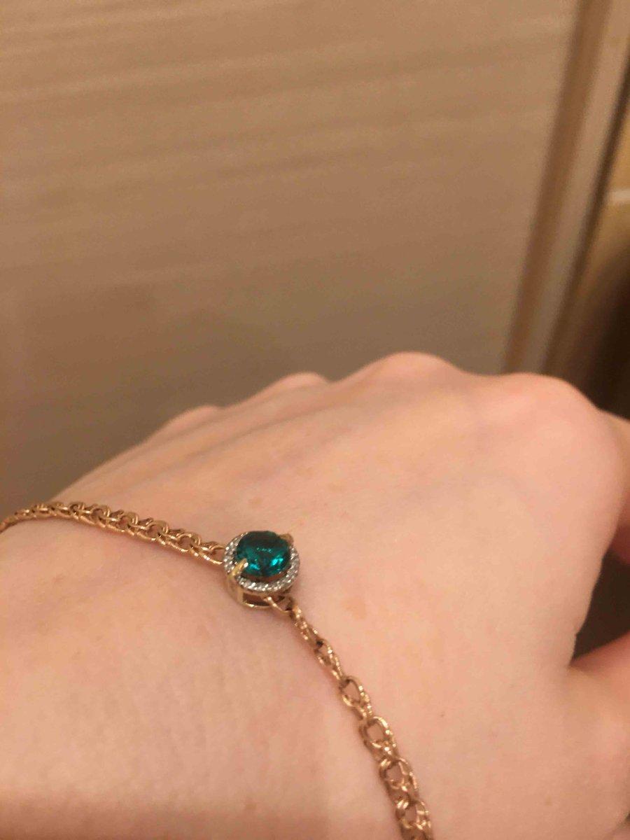 Зеленый изумруд и бриллианты