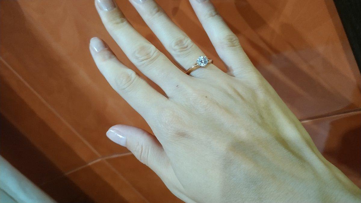 Купил кольцо для помолвки