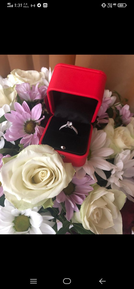 Кольцо для́ помолвки