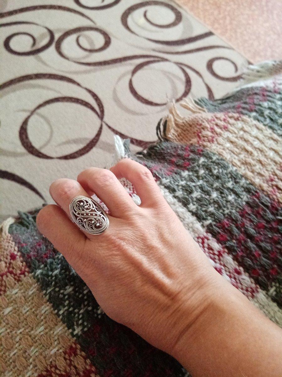 Мне очень нравятся кольца в старинном стиле.