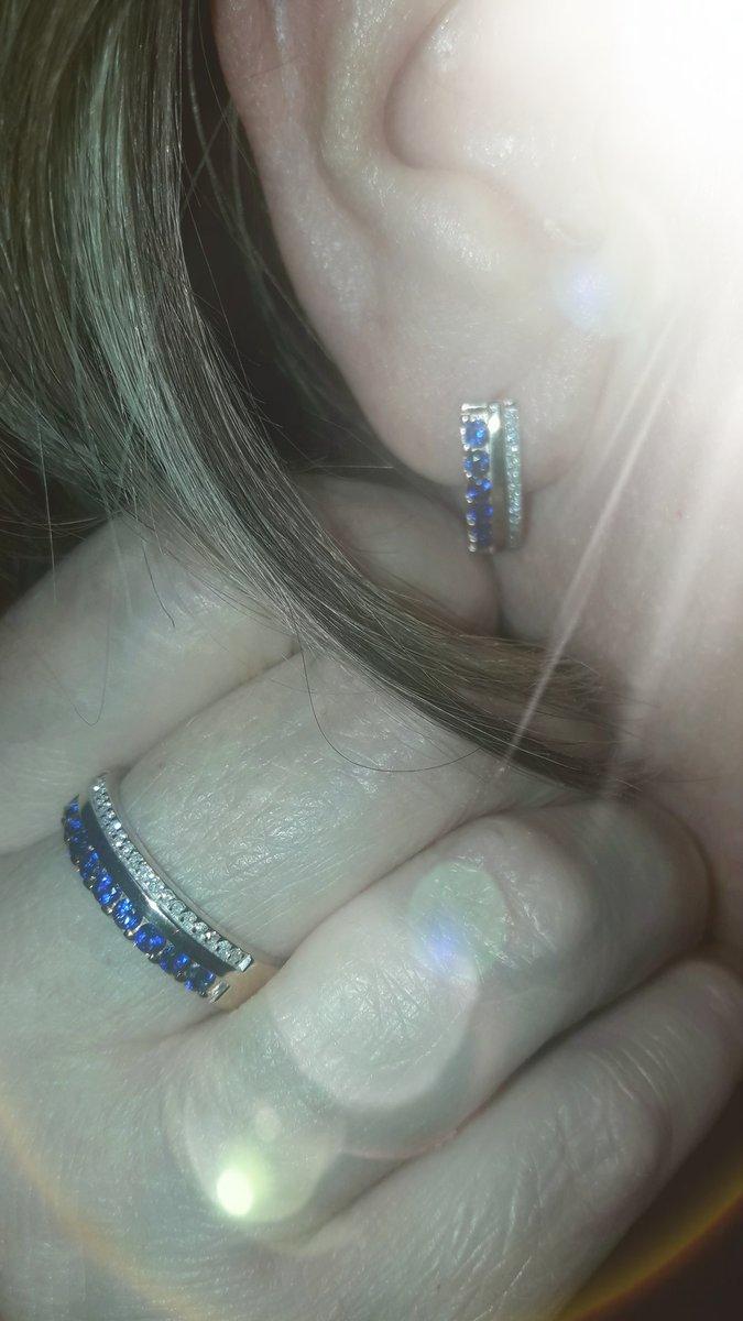 Сет(серьги и кольцо)