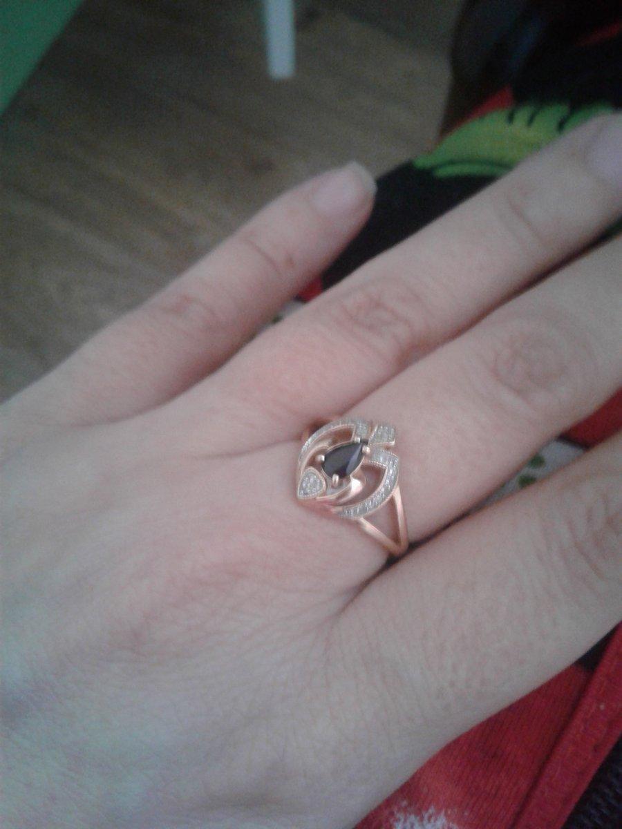 Изящное кольцо для леди!