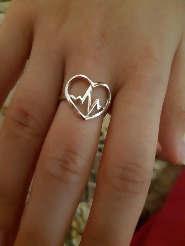 Кольцо-сердечко