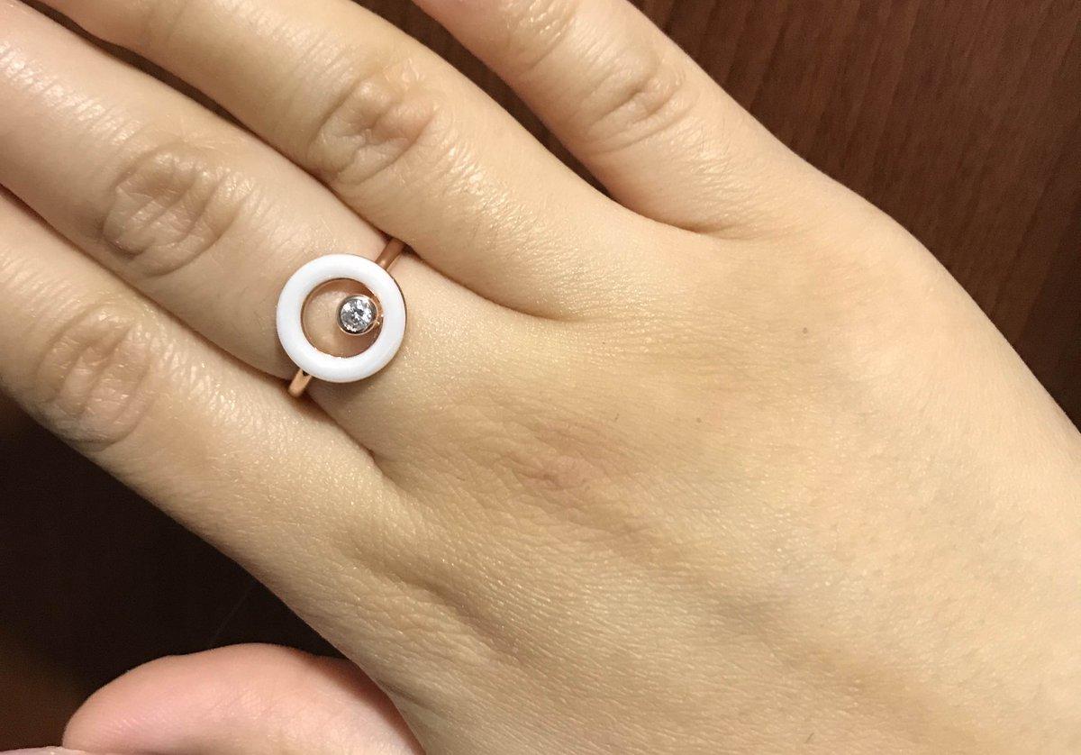 Серебряное кольцо с керамикой от санлайт