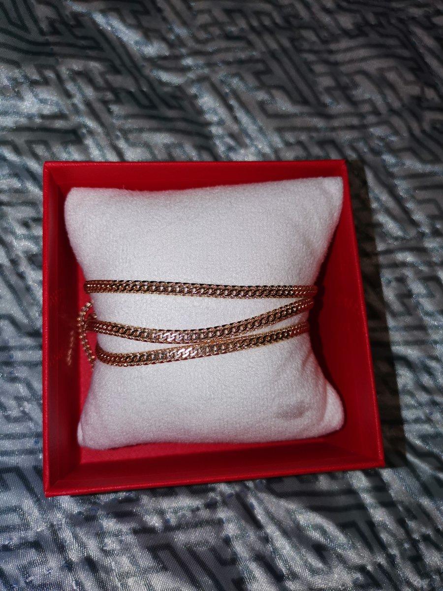 Золотой браслет каприз