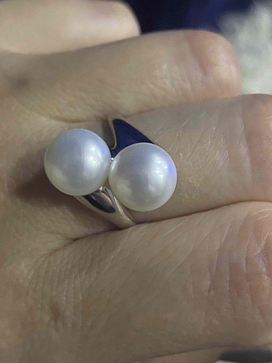 Жемчужное кольцо.