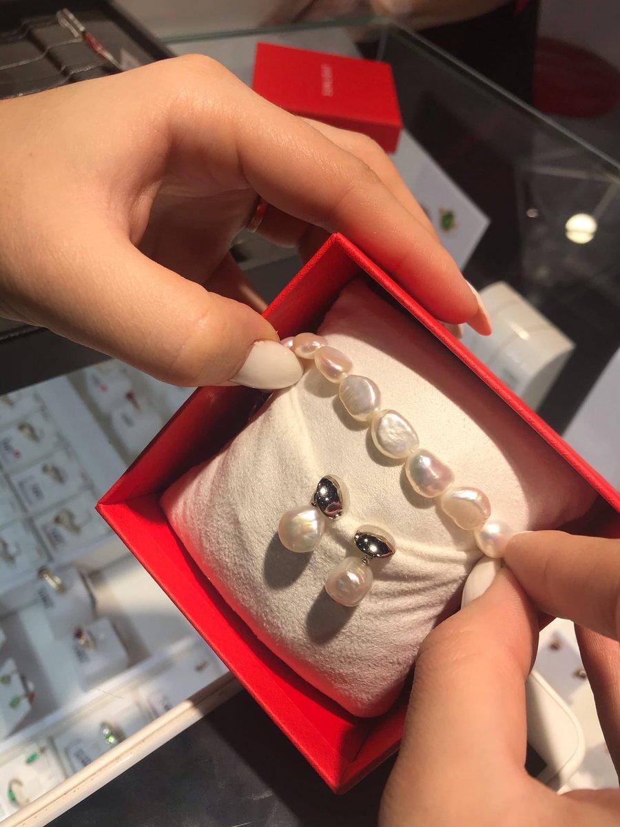 Серебрянный браслет с жемчугом