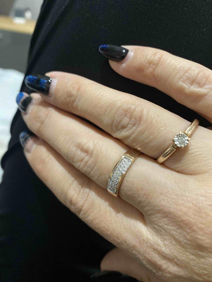 Кольцо подарок мужа, очень милое