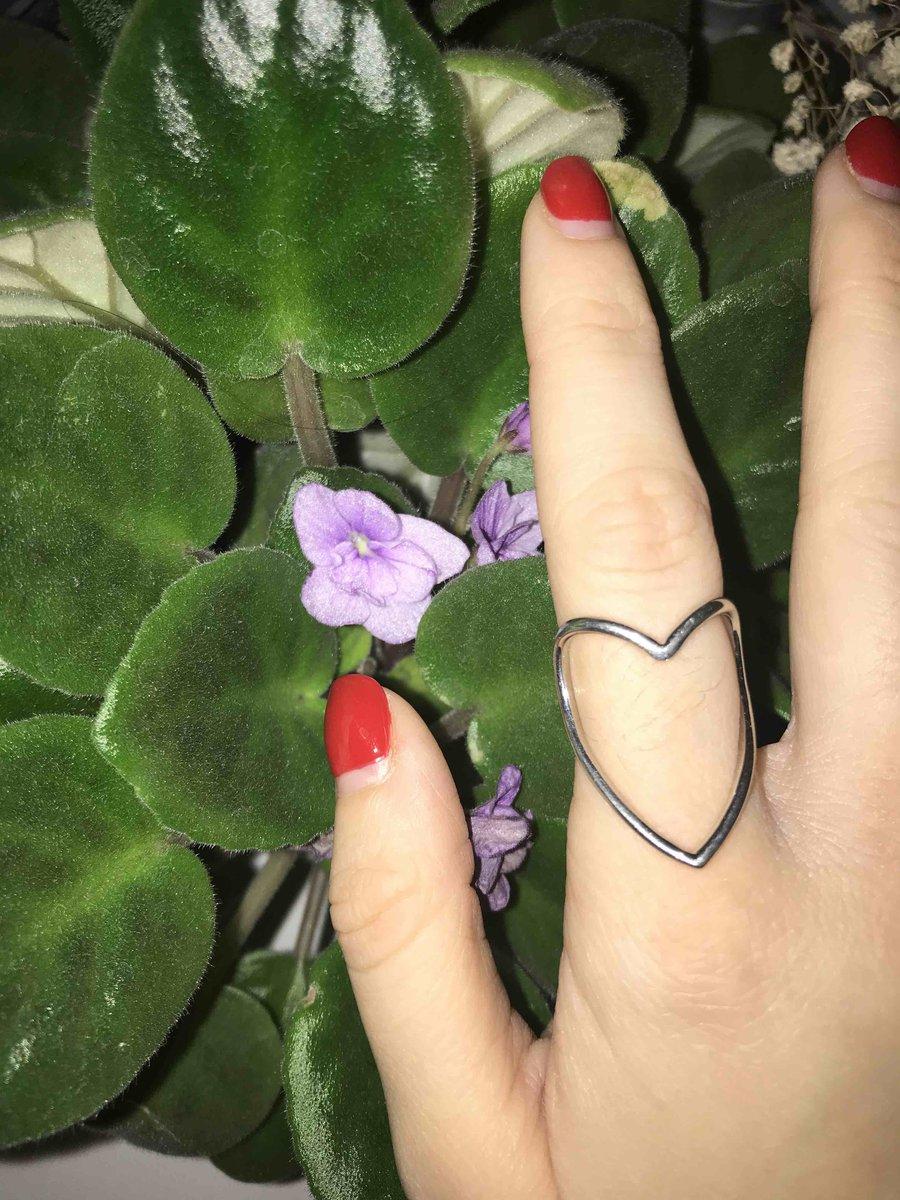 Очень стильное и недорогое кольцо!