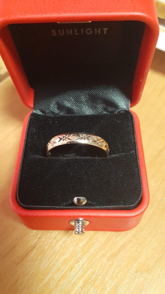 Обручальное кольцо для свадьбы