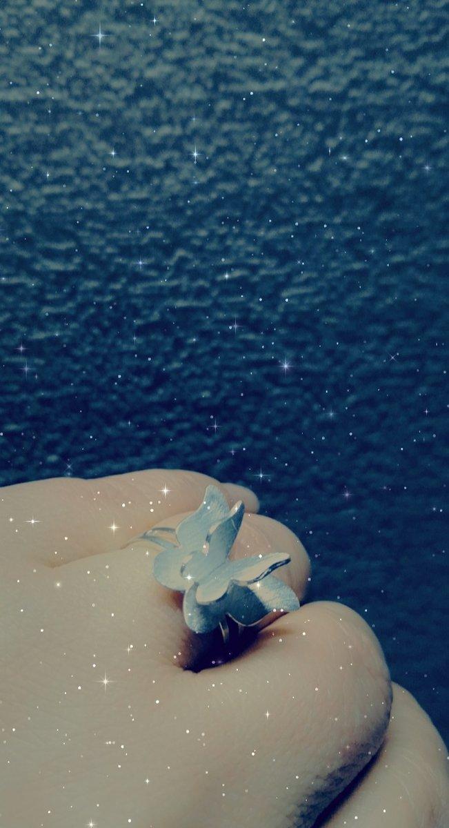 Кольцо бабочка.