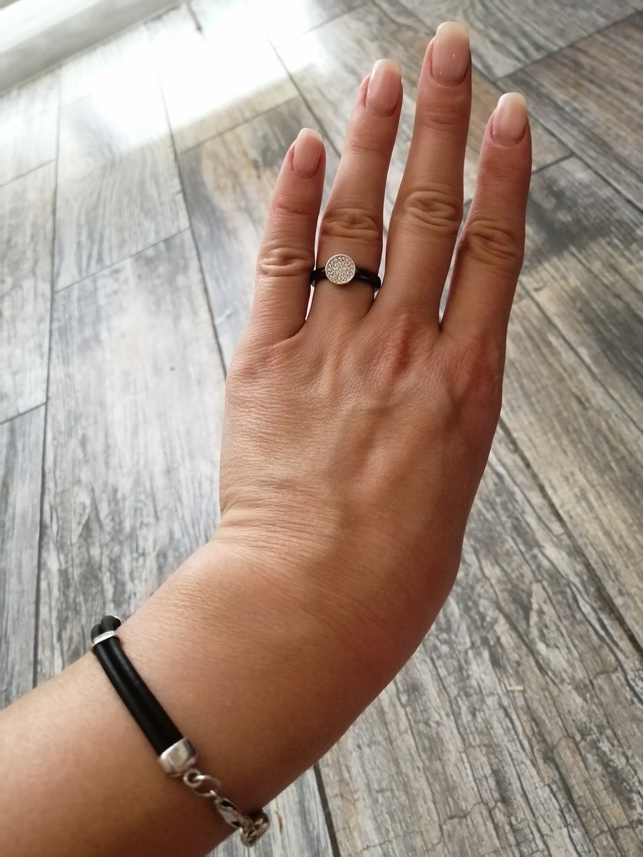 Стильное кольцо)