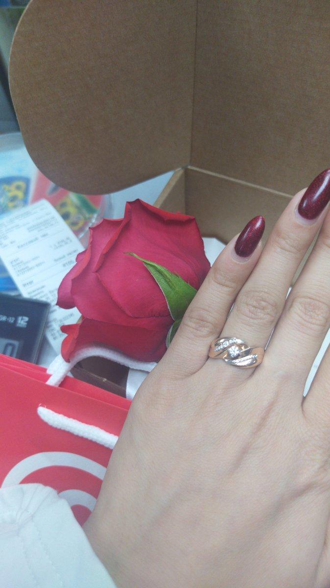 Золотые кольца очень красивая😍💓