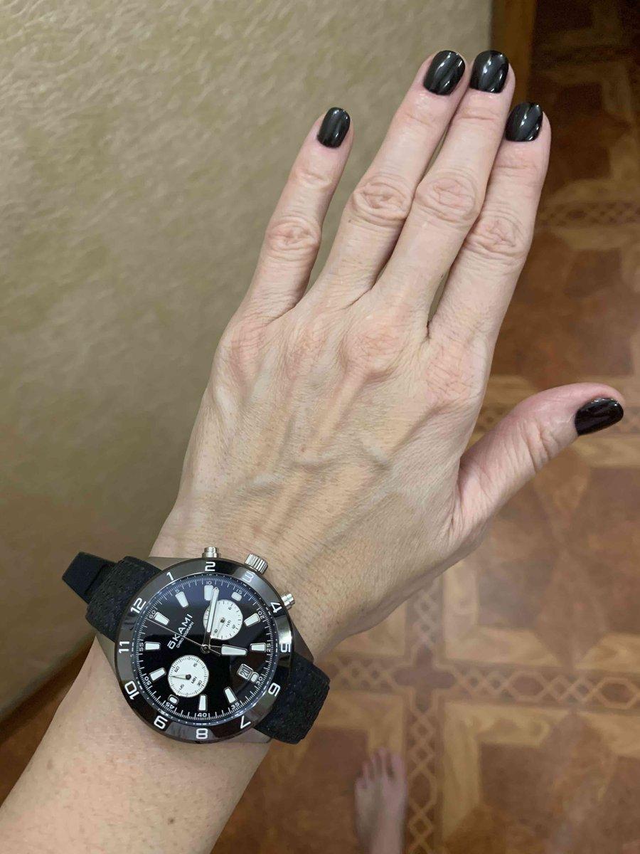 Купила часы.
