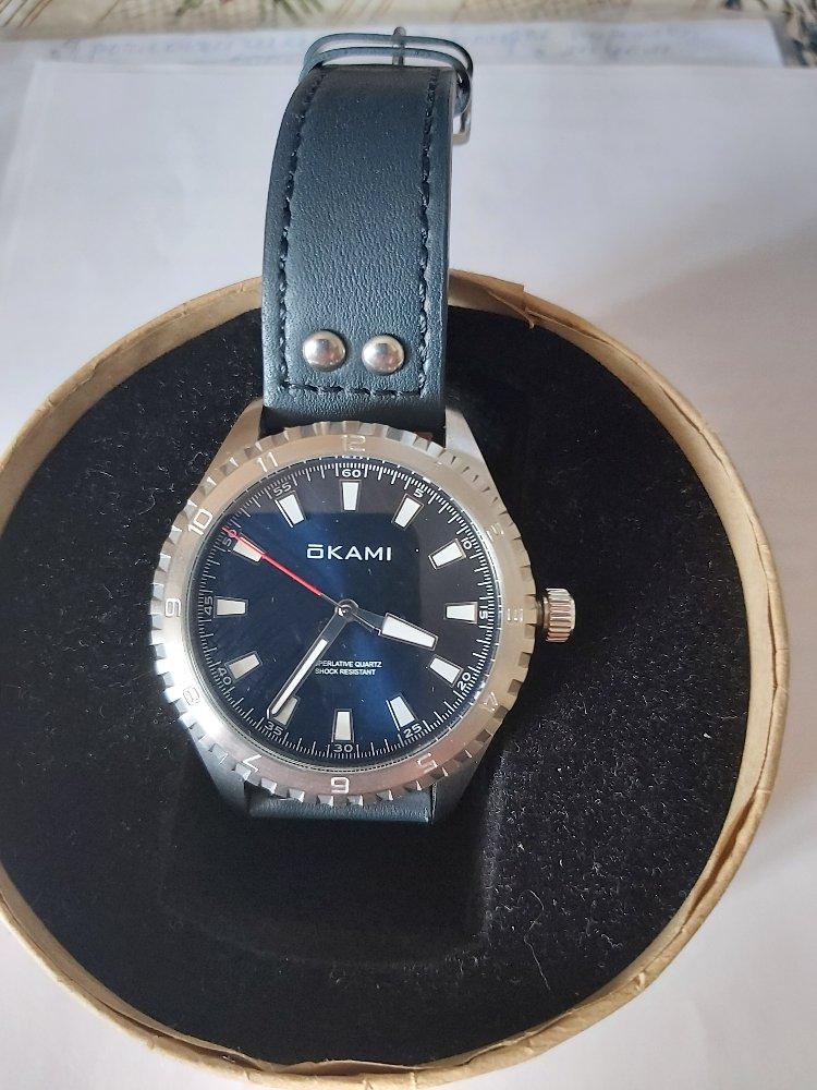 Часы бренда оками